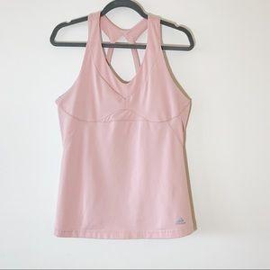 Adidas Clima 365 Dusty Rose Workout Shelf Tank XL
